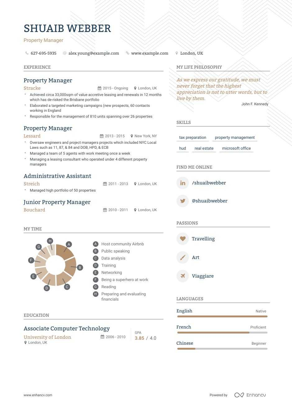 best property manager resume examples with objectives skills templates management Resume Property Management Objective Resume