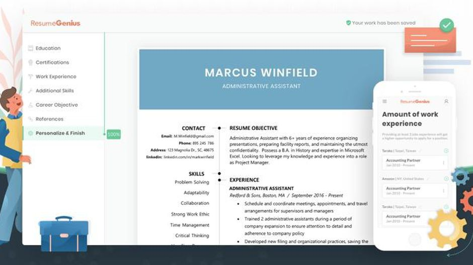 best resume builder of cnet websites screen shot at am shipping sample warehouse examples Resume Best Resume Builder Websites
