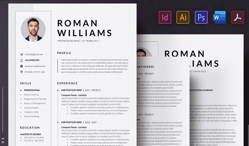 best resume cv templates for free update web resources resumecvcover letter template Resume Free Resume Templates 2020 Download