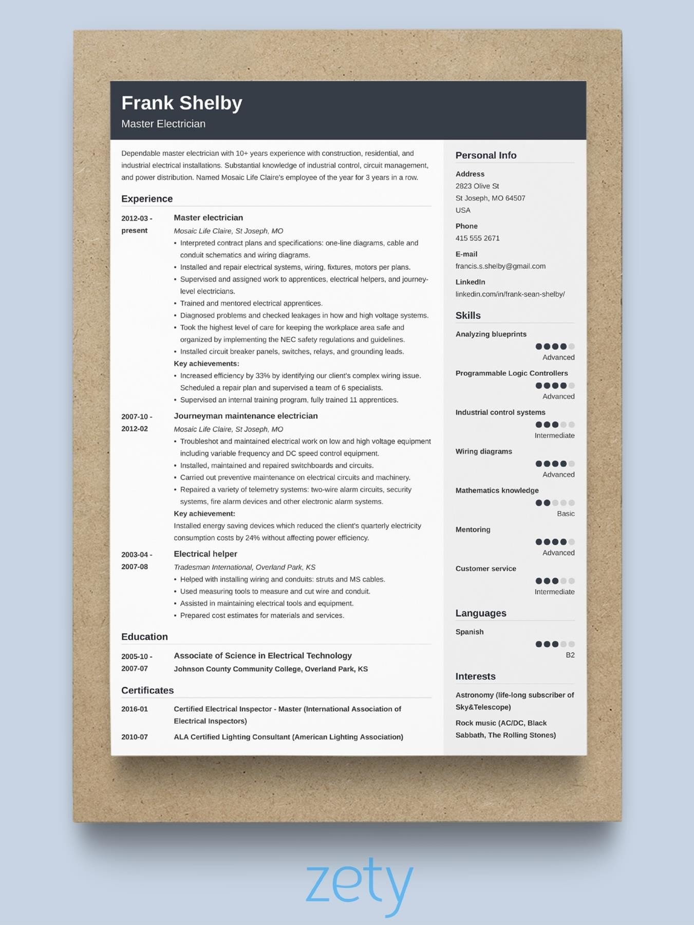 best resume format professional samples effective different types of styles description Resume Effective Resume Format