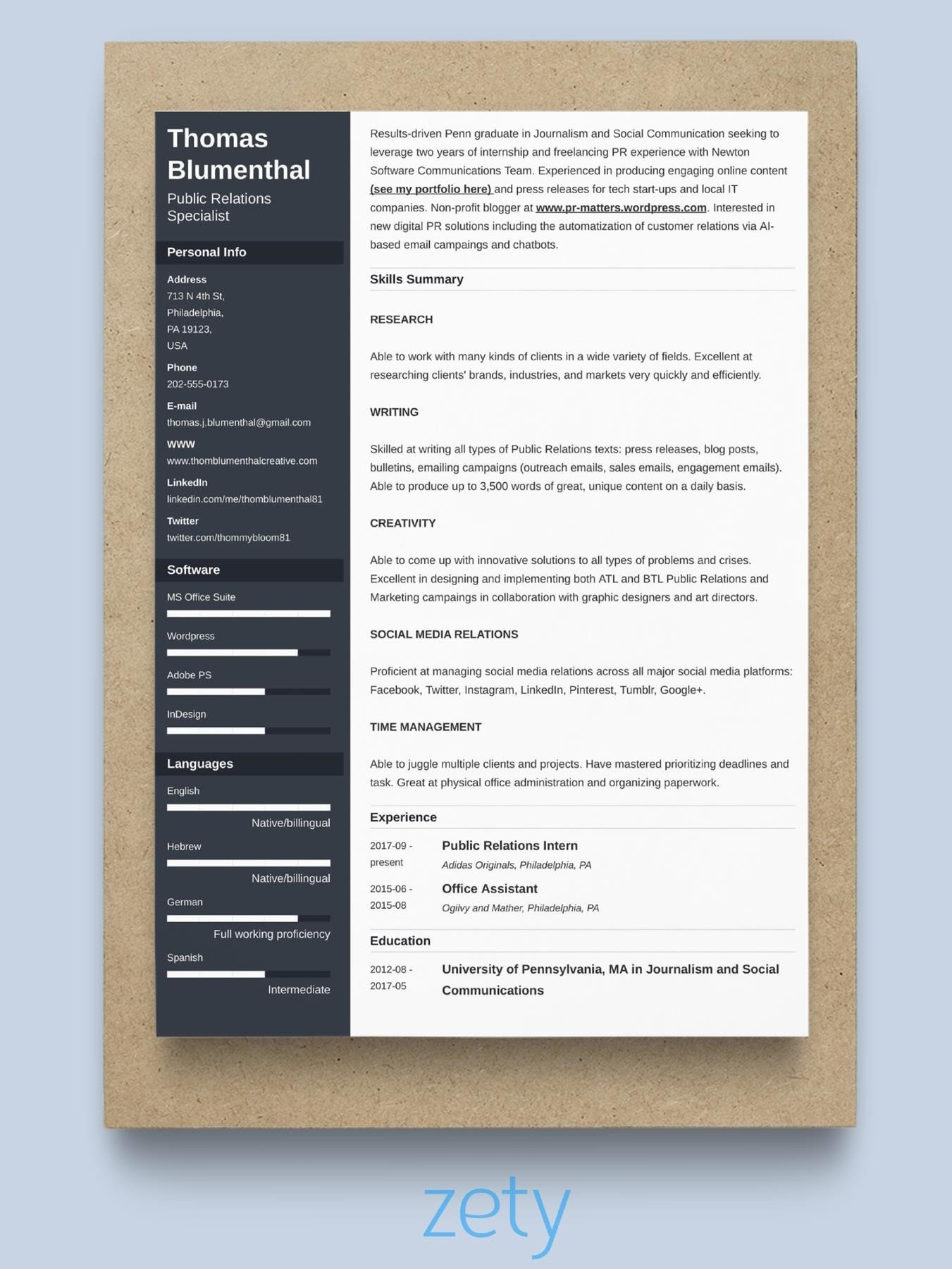 best resume format professional samples experienced examples general for freshers Resume Experienced Person Resume Examples