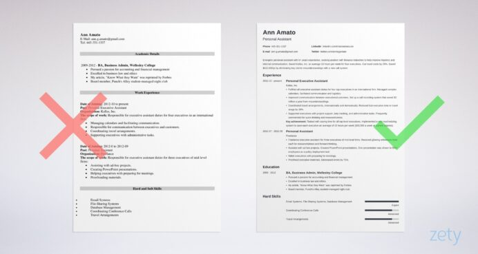 best resume format professional samples layout formats customer service examples general Resume Professional Resume Layout