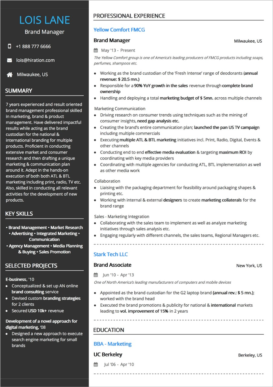 best resume layout guide with examples and samples two column format benefits specialist Resume Two Column Resume Format