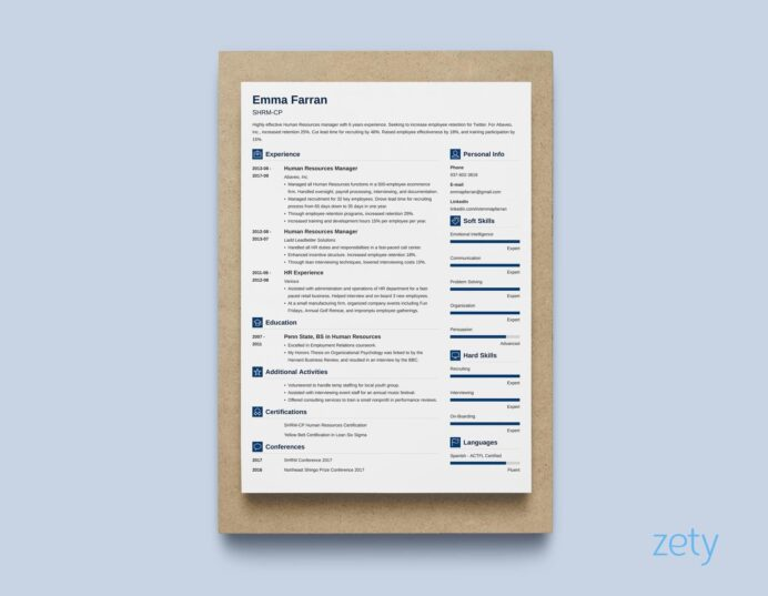 best resume layouts examples from idea to design professional layout vibes general Resume Professional Resume Layout
