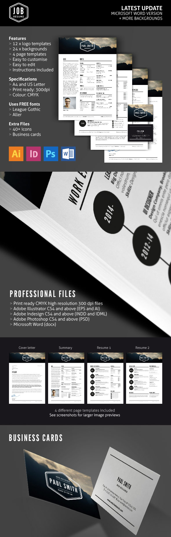 best resume templates design graphic junctiongraphic junction for photoshop job cv Resume Resume For Photoshop Job