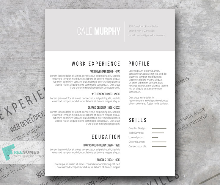best resume templates to and start sending out today freesumes minimalist template free Resume Minimalist Resume Template Free Word