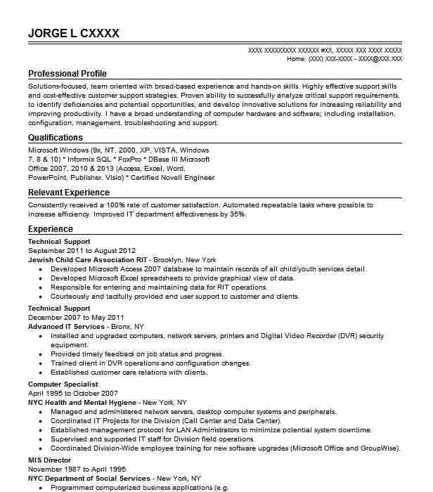 best technical support resume example livecareer representative psychiatrist sample Resume Technical Support Representative Resume