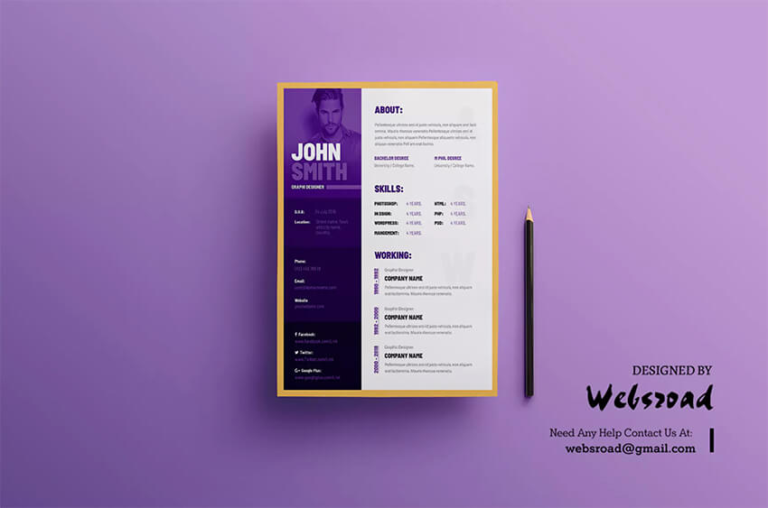 best visual cv resume templates for artists creatives in elements of style template Resume Elements Of Resume Style