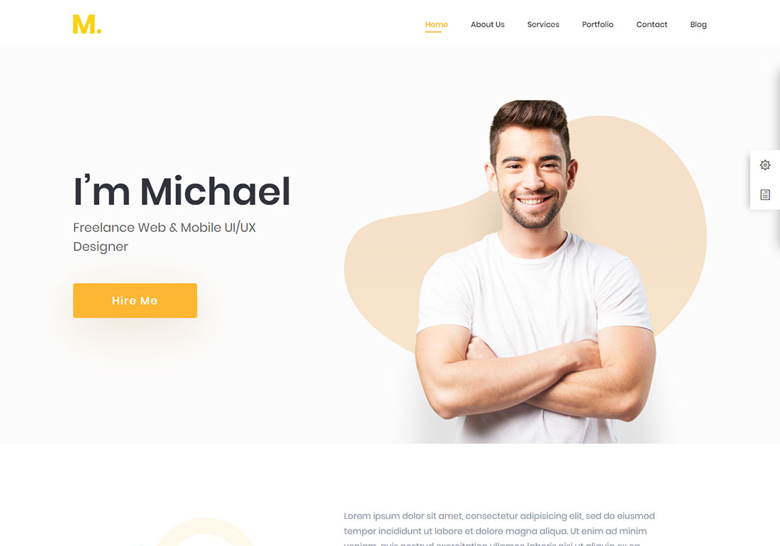 best wordpress resume themes colorlib free awesome funny hcc coder cater waiter medical Resume Best Free Wordpress Resume Themes