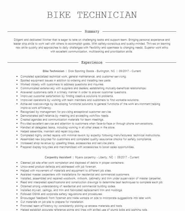 bike courier resume example postmates can you put on objective for college student Resume Can You Put Postmates On Resume