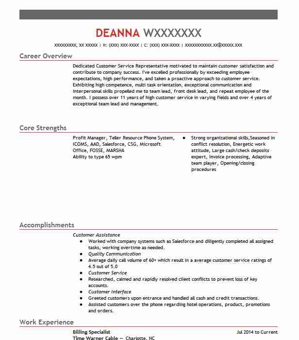 billing specialist resume example accountant resumes livecareer medical aircraft Resume Medical Billing Specialist Resume