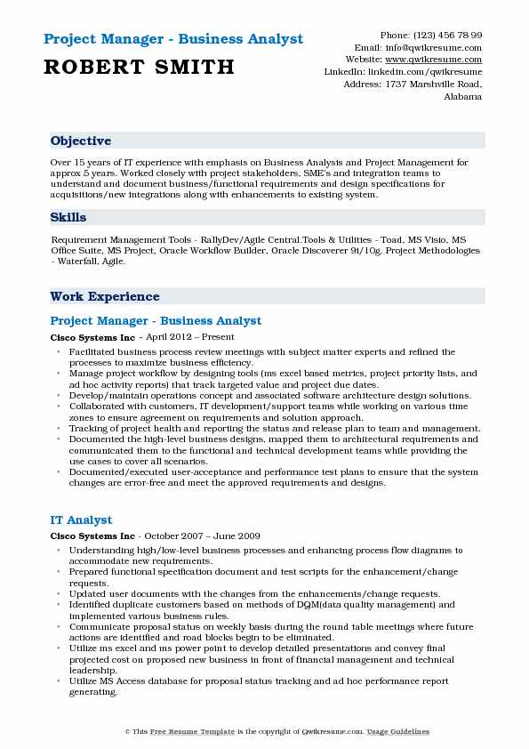 business analyst project manager resume samples qwikresume oracle pdf rachel party Resume Oracle Project Manager Resume