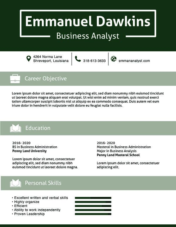 business analyst resume template free samples examples format premium templates Resume Information Technology Business Analyst Resume Sample