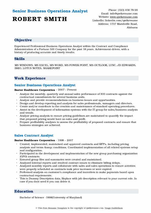 business operations analyst resume samples qwikresume best pdf maintenance coordinator Resume Best Operations Analyst Resume