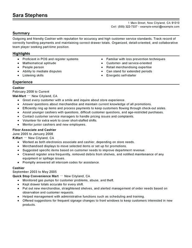 by cashier resume samples format examples high school maker kennesaw state template Resume Cashier Resume Examples Samples