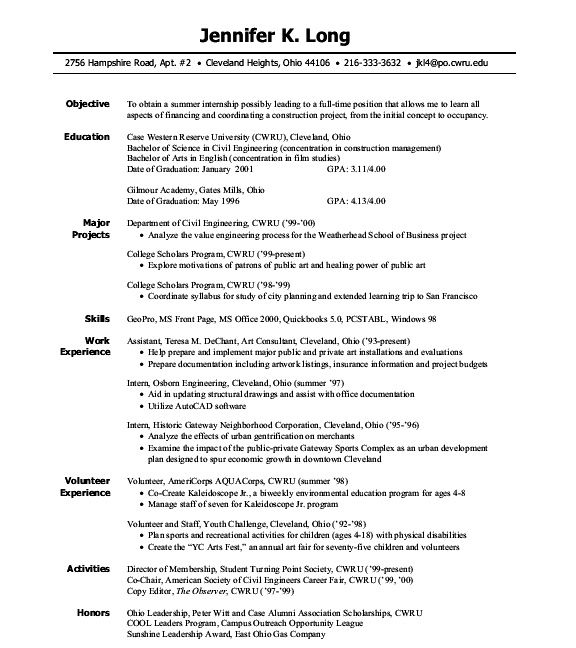 by resume for internship format template engineering python machine learning loan officer Resume Resume Template For Internship Engineering