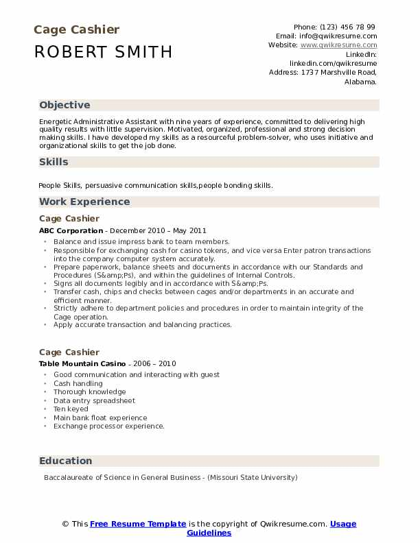 cage cashier resume samples qwikresume responsibilities pdf for mac makeup artist sender Resume Cashier Responsibilities Resume