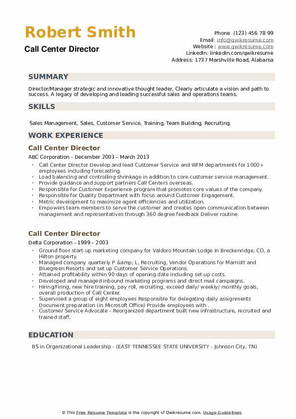 call center director resume samples qwikresume outsource experience pdf fresher career Resume Resume Outsource Experience