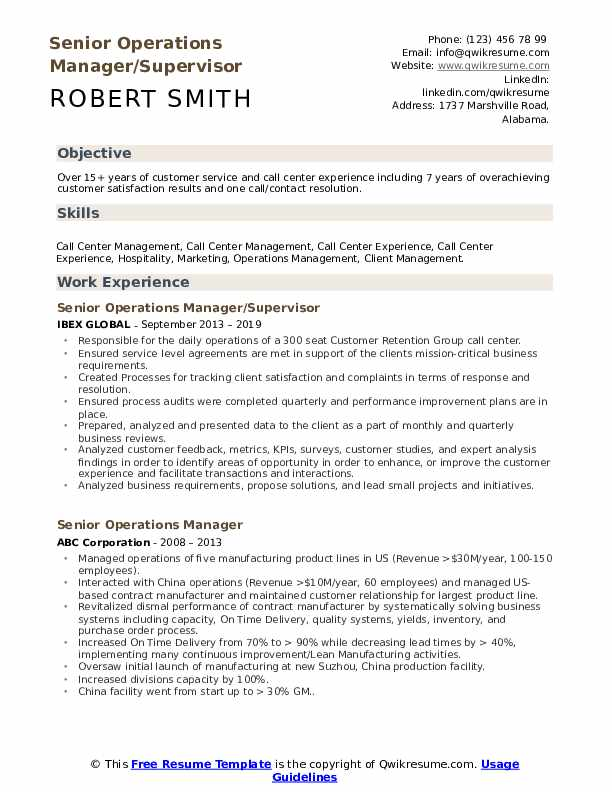 call center director resume samples qwikresume outsource experience senior operations Resume Resume Outsource Experience