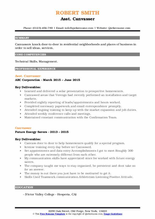 canvasser resume samples qwikresume job description pdf corporate event manager Resume Canvasser Job Description Resume