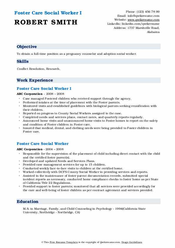 care social worker resume samples qwikresume pdf copy of meaning spelling check career Resume Foster Care Social Worker Resume