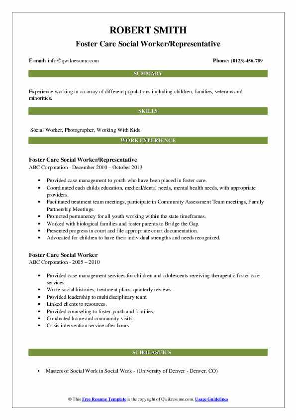 care social worker resume samples qwikresume pdf ophthalmology technician professional Resume Foster Care Social Worker Resume