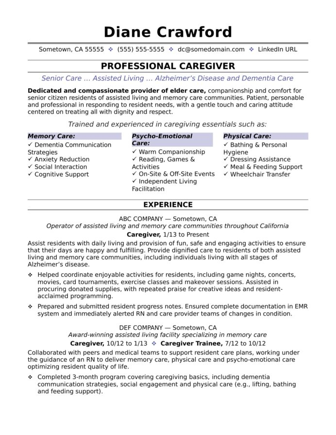 caregiver resume sample monster duties of for business operations specialist free writing Resume Duties Of Caregiver For Resume