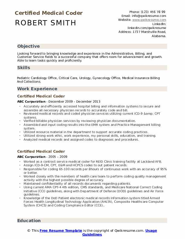 certified medical coder resume samples qwikresume objective pdf academic examples Resume Medical Coder Resume Objective
