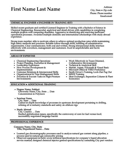 chemical engineer resume template premium samples example engineering templates for Resume Resume For Chemical Industry