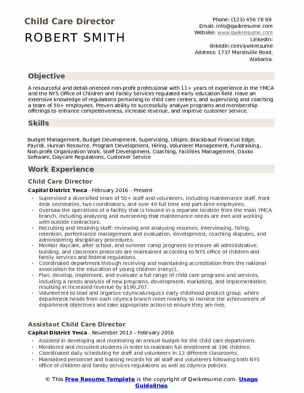 child care director resume samples qwikresume daycare worker duties pdf better service Resume Daycare Worker Resume Duties
