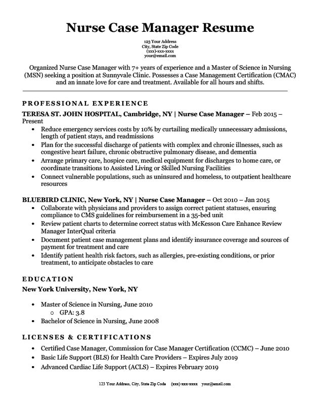 chronological resume format template writing guide rn case manager objective examples Resume Rn Case Manager Resume Objective Examples
