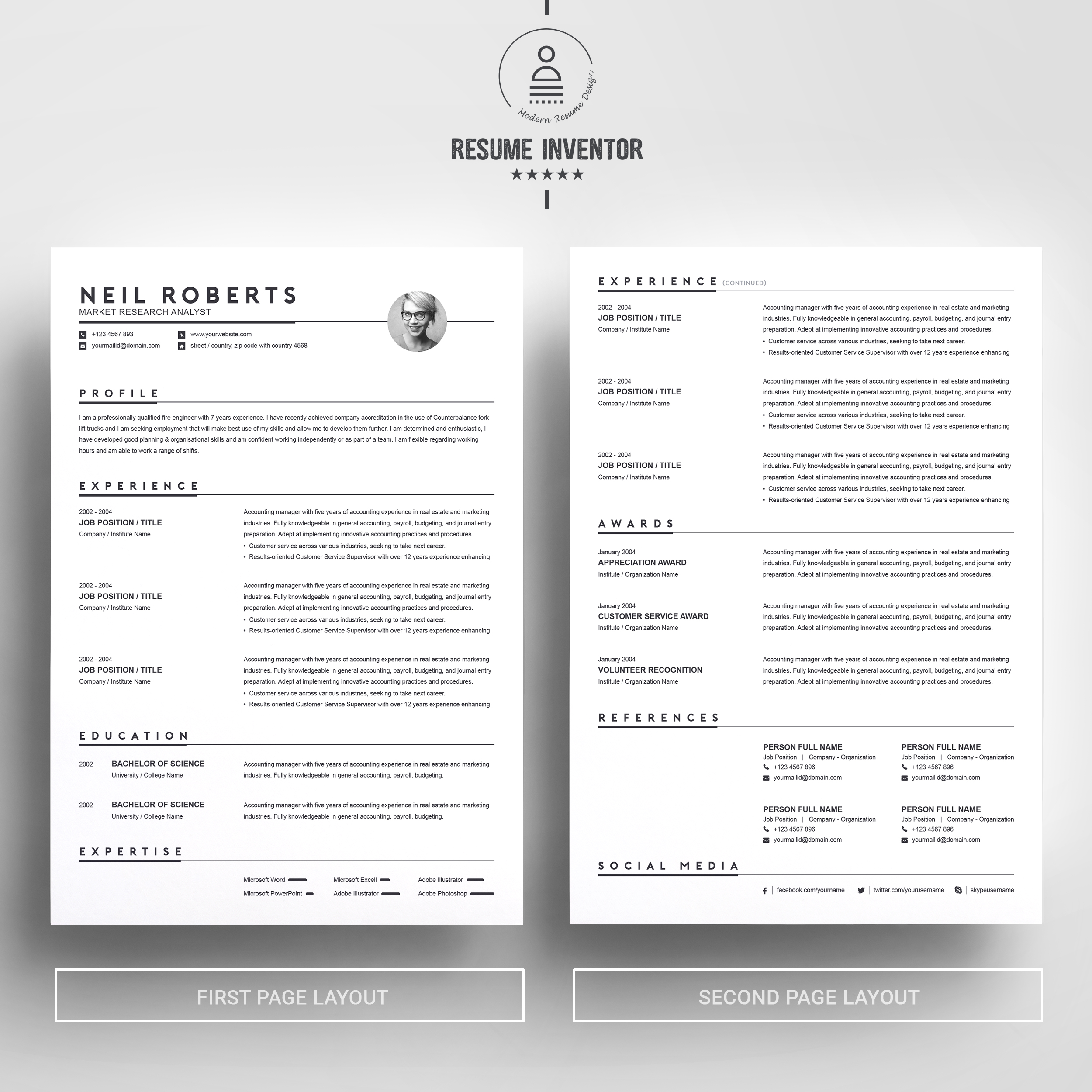 clean resume template word cv cover letter free resumes templates pixelify net microsoft Resume Microsoft Word Resume Tutorial