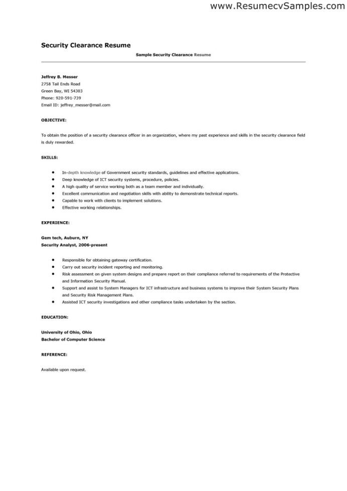 clearance uivory world security on resume examples sample strength phrases technical Resume Security Clearance On A Resume Examples