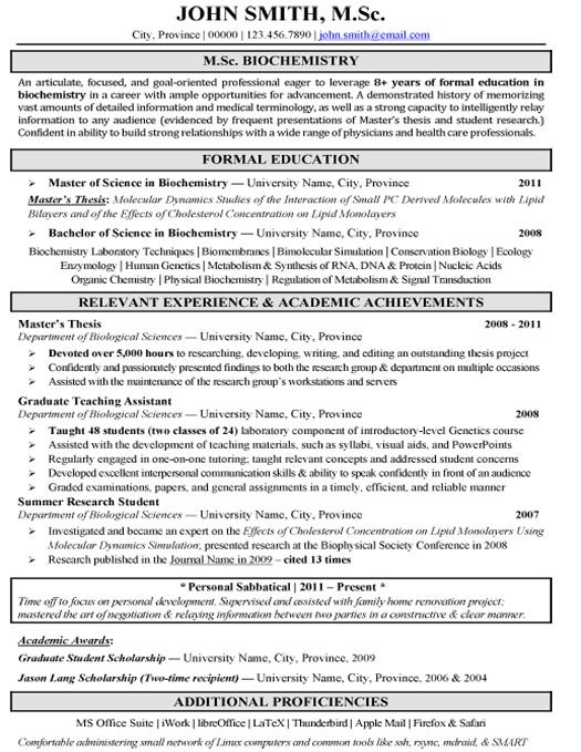 click here to this pharmaceutical biochemistry research resume template http resumete Resume Biochemistry Resume Format