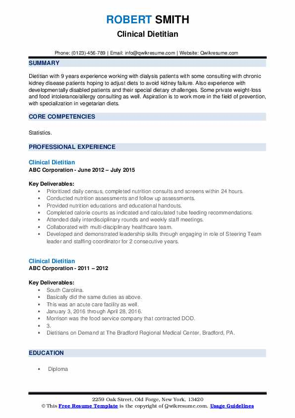 clinical dietitian resume samples qwikresume registered pdf cyber emailing your new model Resume Registered Dietitian Resume