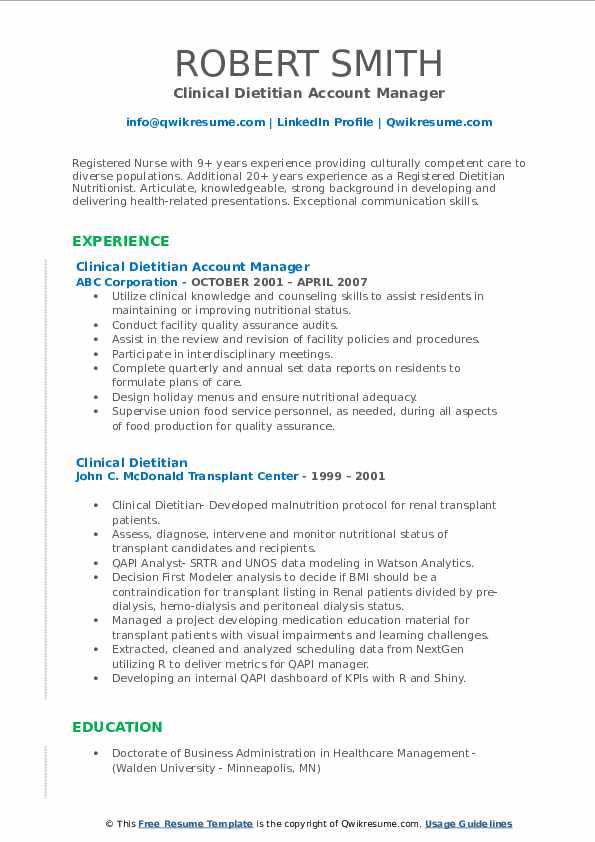 clinical dietitian resume samples qwikresume registered pdf personal security detail Resume Registered Dietitian Resume
