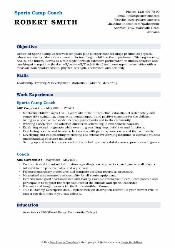 coach resume samples qwikresume track and field example pdf production supervisor billing Resume Track And Field Resume Example