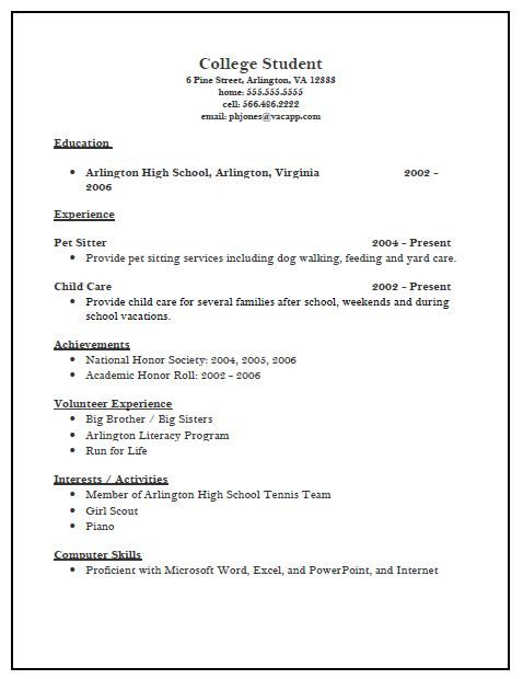 college admission resume template yes we do have application for high school sample Resume Resume For College Admission