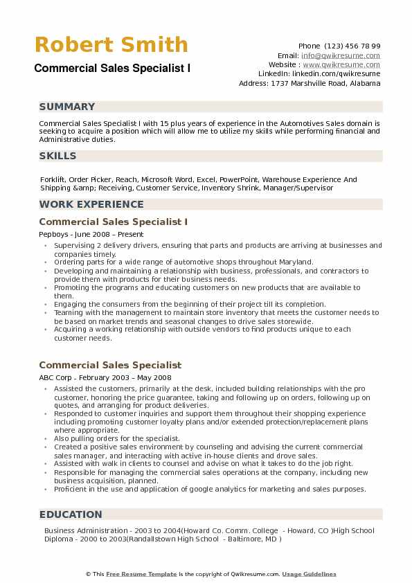 commercial specialist resume samples qwikresume product sample pdf interests section Resume Product Specialist Resume Sample