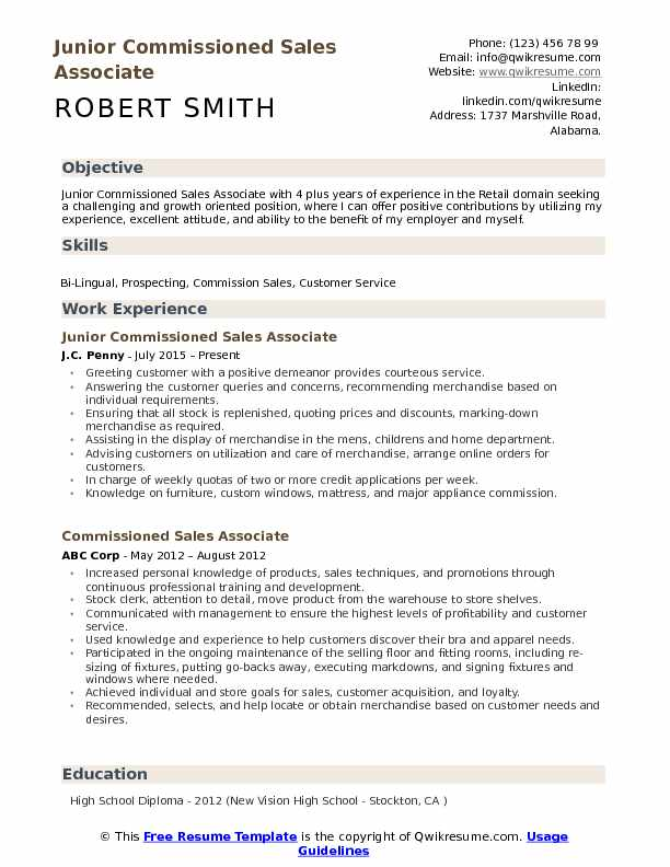 commissioned associate resume samples qwikresume retail job duties for pdf ssrs years Resume Retail Job Duties For Resume