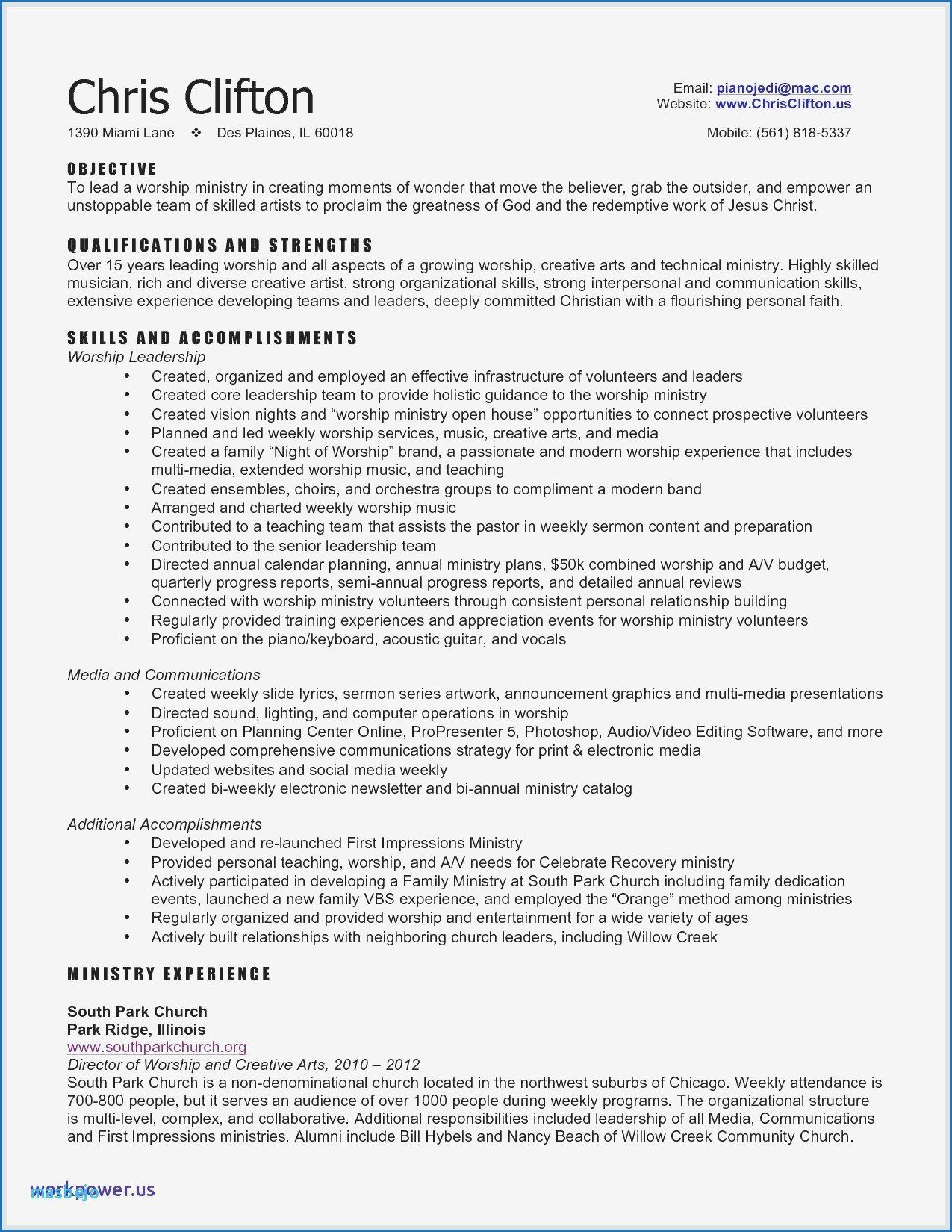 communication skills for resume fresh social media nanny examples sample samples new in Resume Ministry Objective Resume Examples