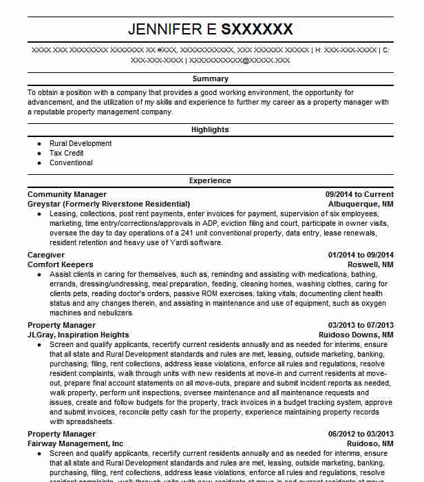 community manager resume example resumes misc livecareer objective restaurant general Resume Community Manager Resume Objective