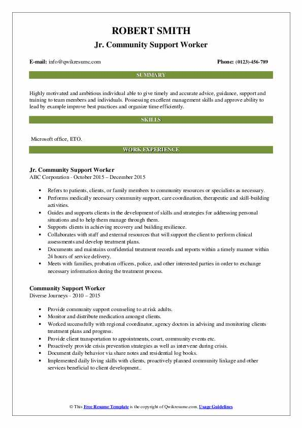community support worker resume samples qwikresume service example pdf duties and Resume Community Service Worker Resume Example