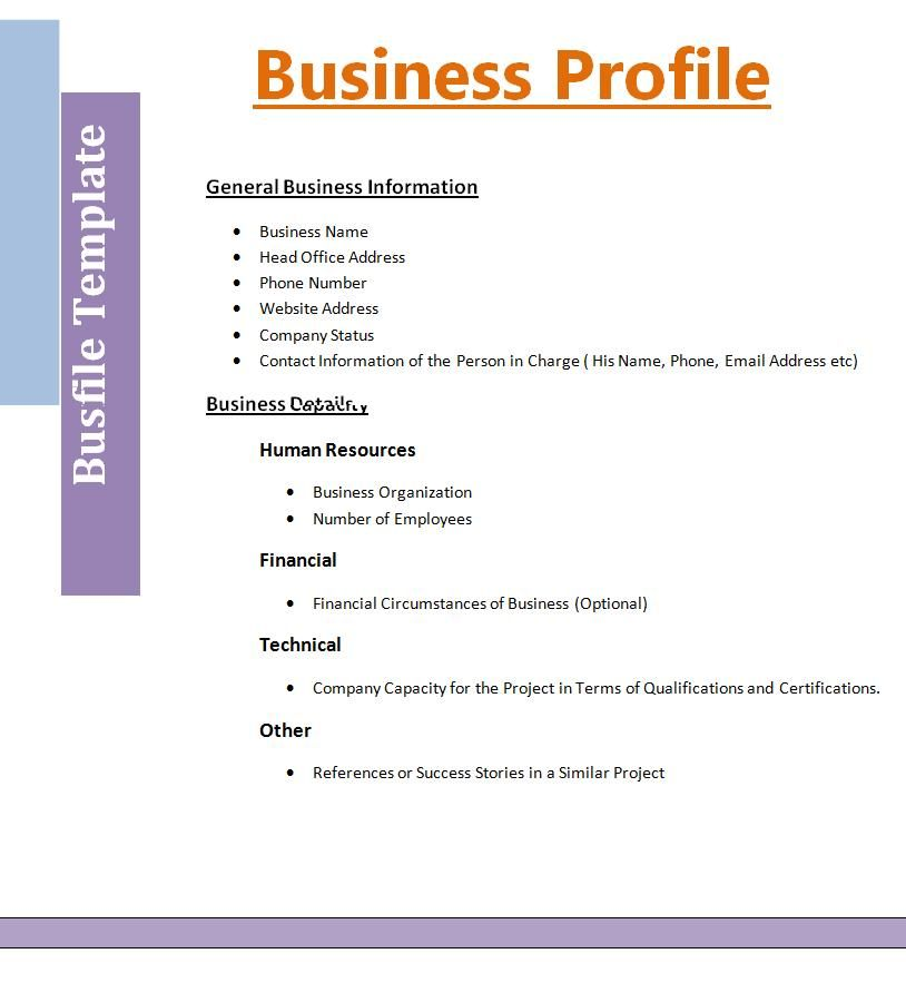 company profile templates business plan template word for resume writing worksheet school Resume Profile For Business Resume