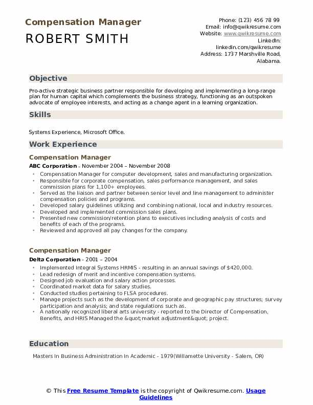 compensation manager resume samples qwikresume global mobility pdf duties for headline on Resume Global Mobility Manager Resume