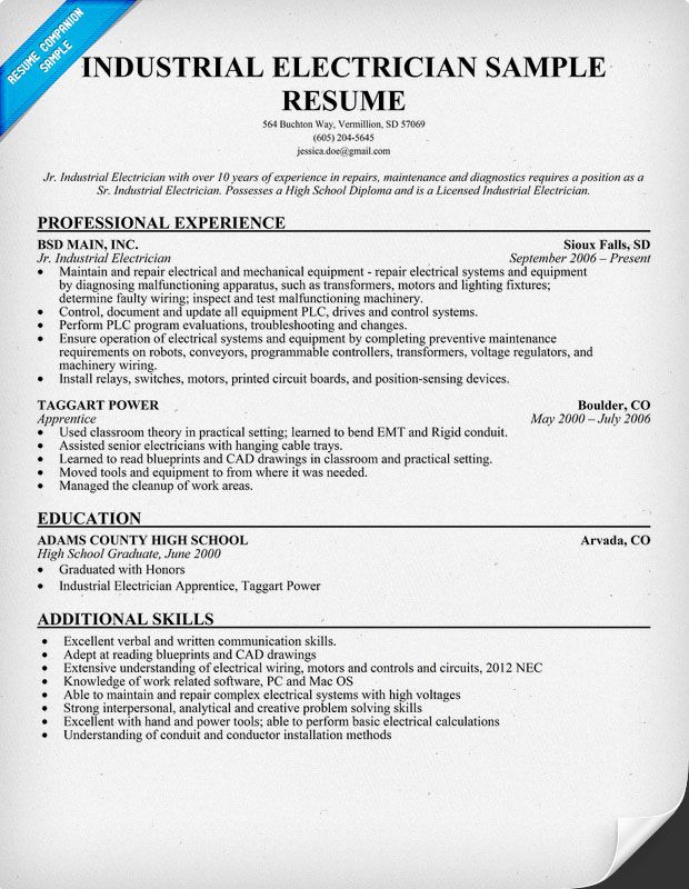 construction resume writing tips customer service templates electrician template Resume Electrician Resume Template Microsoft Word