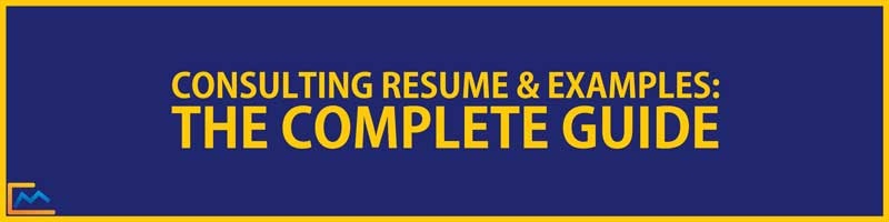 consulting resume complete guide the prep experts consultation services follow up email Resume Resume Consultation Services