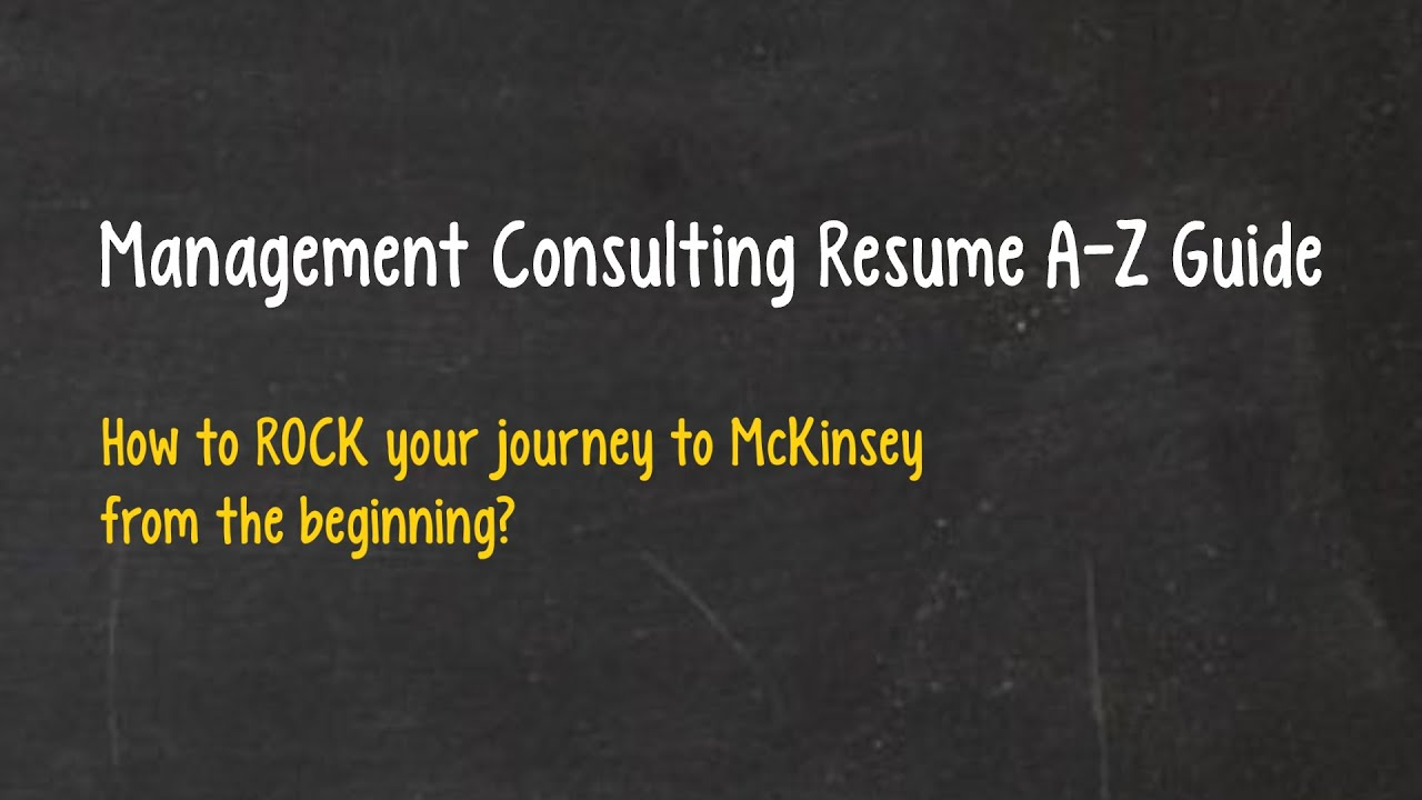 consulting resume guidelines templates mconsultingprep specific for marketing job sample Resume Consulting Specific Resume