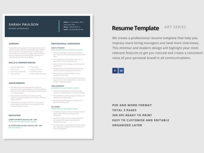 consulting resume template word and indesign format graphic creative consultant 1200x900 Resume Creative Consultant Resume