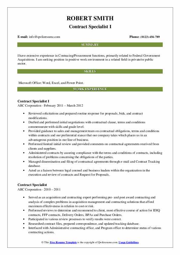 contract specialist resume samples qwikresume federal government pdf cosmetology sample Resume Federal Government Contract Specialist Resume
